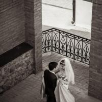Фото: свадьба Андрея и Кати летом на природе, стиль ретро - 1