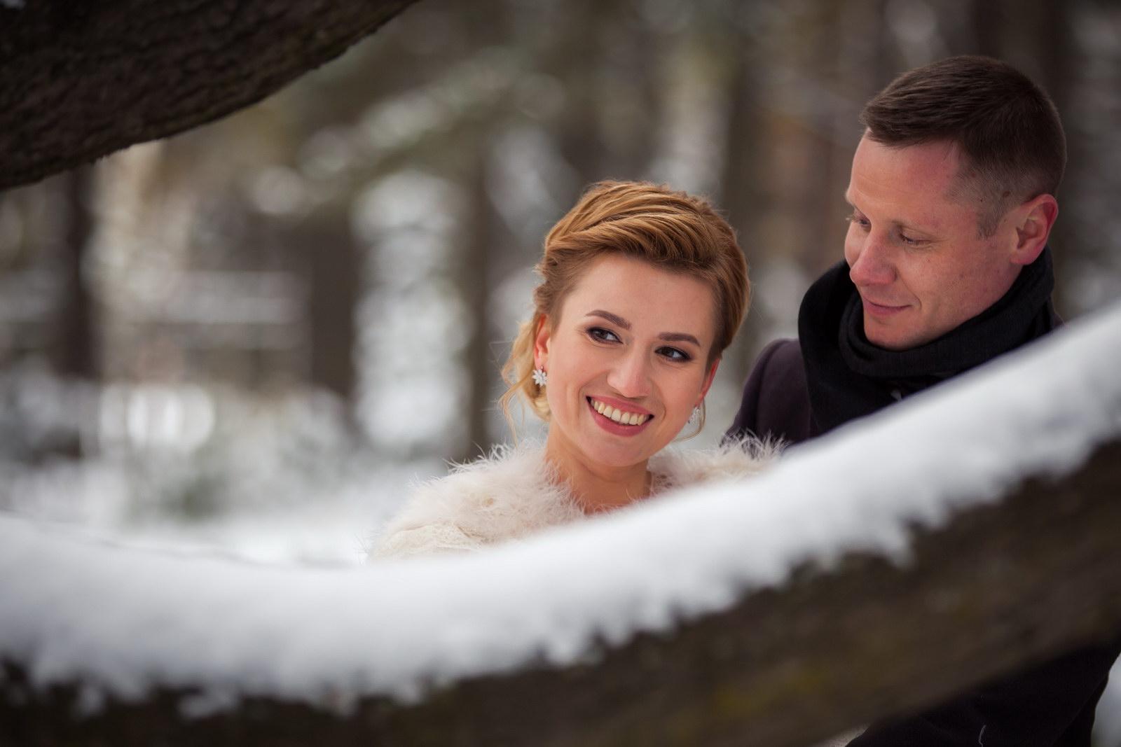 Свадебная фотосессия зимой фото и идеи