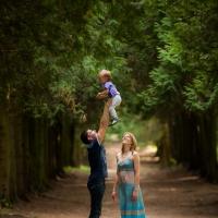 Семейная съемка Артема и Кати