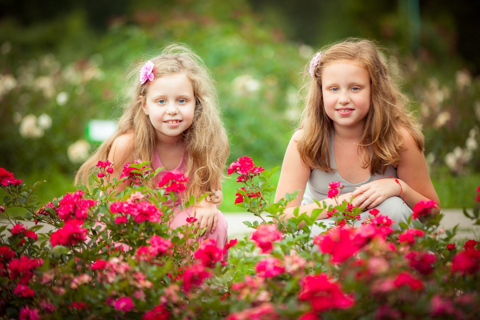Идея фото с ребенком на природе