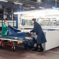 Фотосъемка на  заводе — Производственное кожевенное объединение - рекламная фотосессия