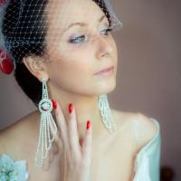 Свадебное фото невесты и жениха Романа и Ксении