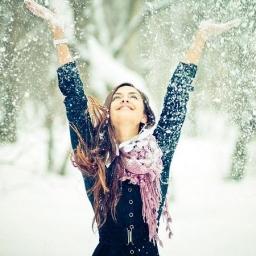 Зимние фотосессии на природе: фото зимой