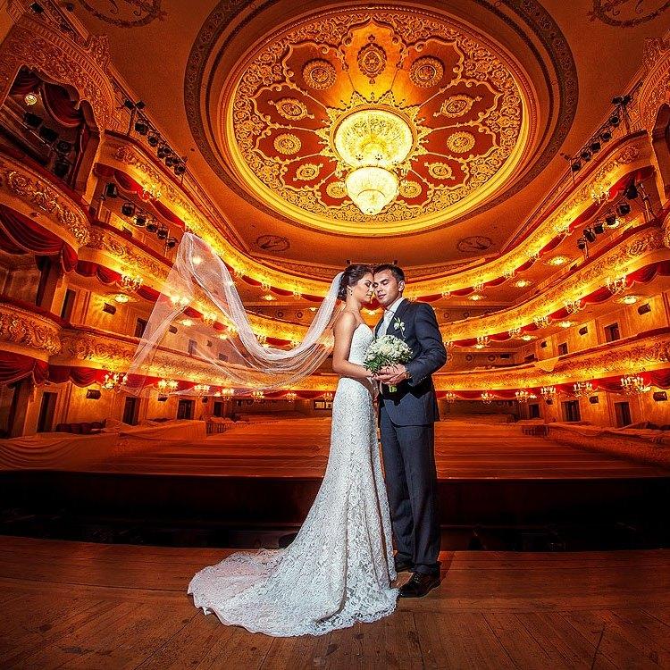 фотосессия  в оперном театре
