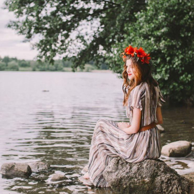 фотосессия на реке