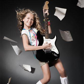 фотосессия с гитарой