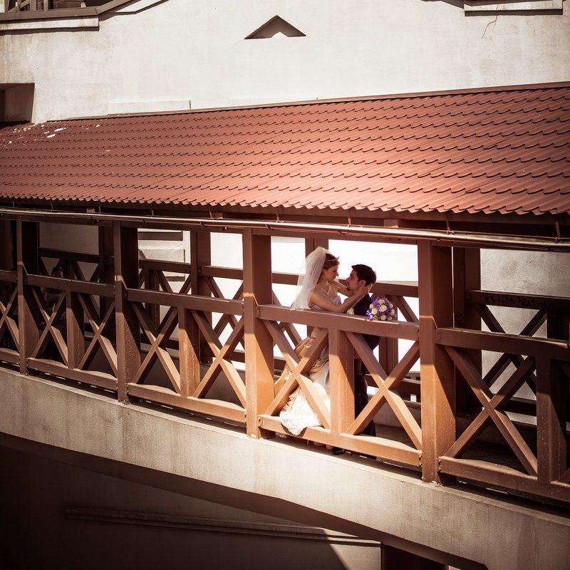 фотосессия на мосту