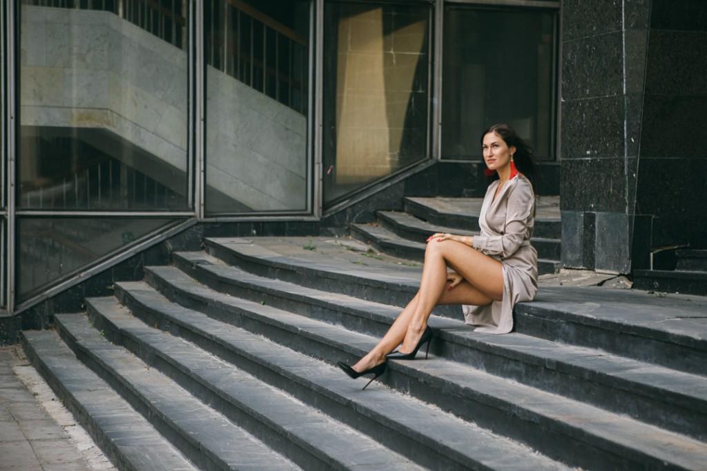 Фотосессия девушке в городе