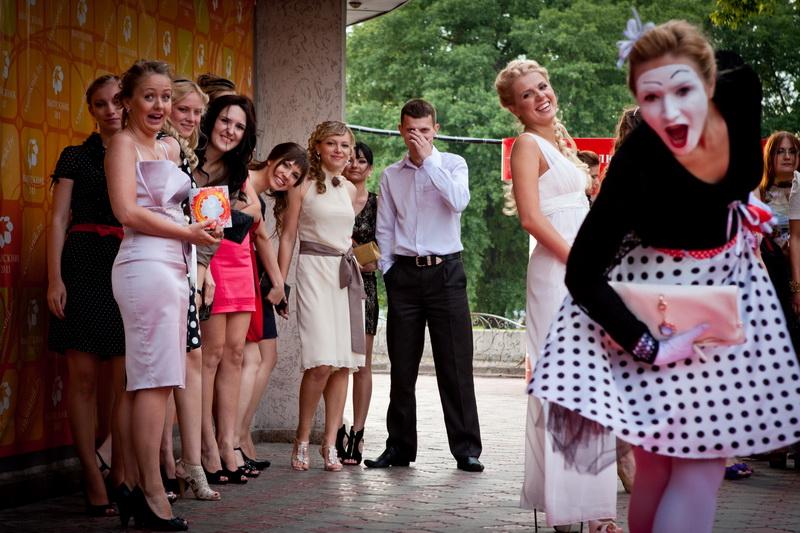 Репортажные фотосъемки: выпускные