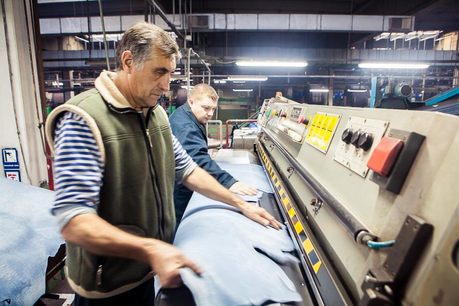 Репортажные фотосъемки: производство на заводе, оборудование