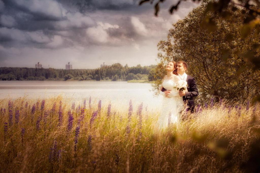 Осенняя фотосессия в поле