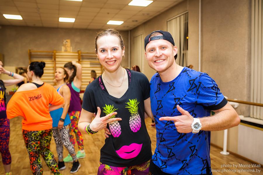 Фотосессия в Фитнес центре в Минске