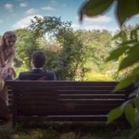 Фото: свадьба Андрея и Кати летом на природе, стиль ретро - 9