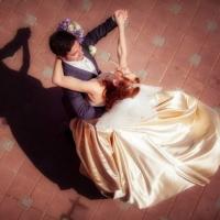 Фото: свадьба Андрея и Кати летом на природе, стиль ретро - 21