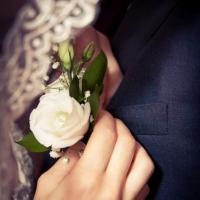 Фото: свадьба Андрея и Кати летом на природе, стиль ретро - 20