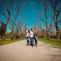 Семейная фотосъемка для Елены и Ани