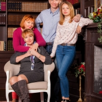 Семейные фотосессии в студии Валентины Александровны